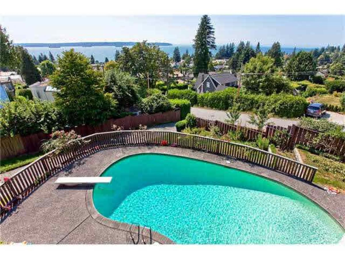 Pool at 2288 Mathers Avenue, Dundarave, West Vancouver