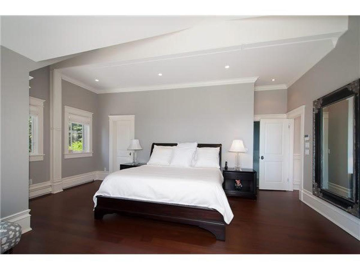 Master bedroom at 4075 Rose Crescent, Sandy Cove, West Vancouver