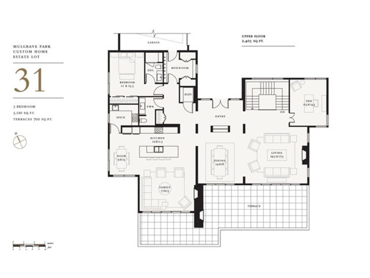 Floorplan-1 at Lot 31 Mulgrave Park, Whitby Estates, West Vancouver