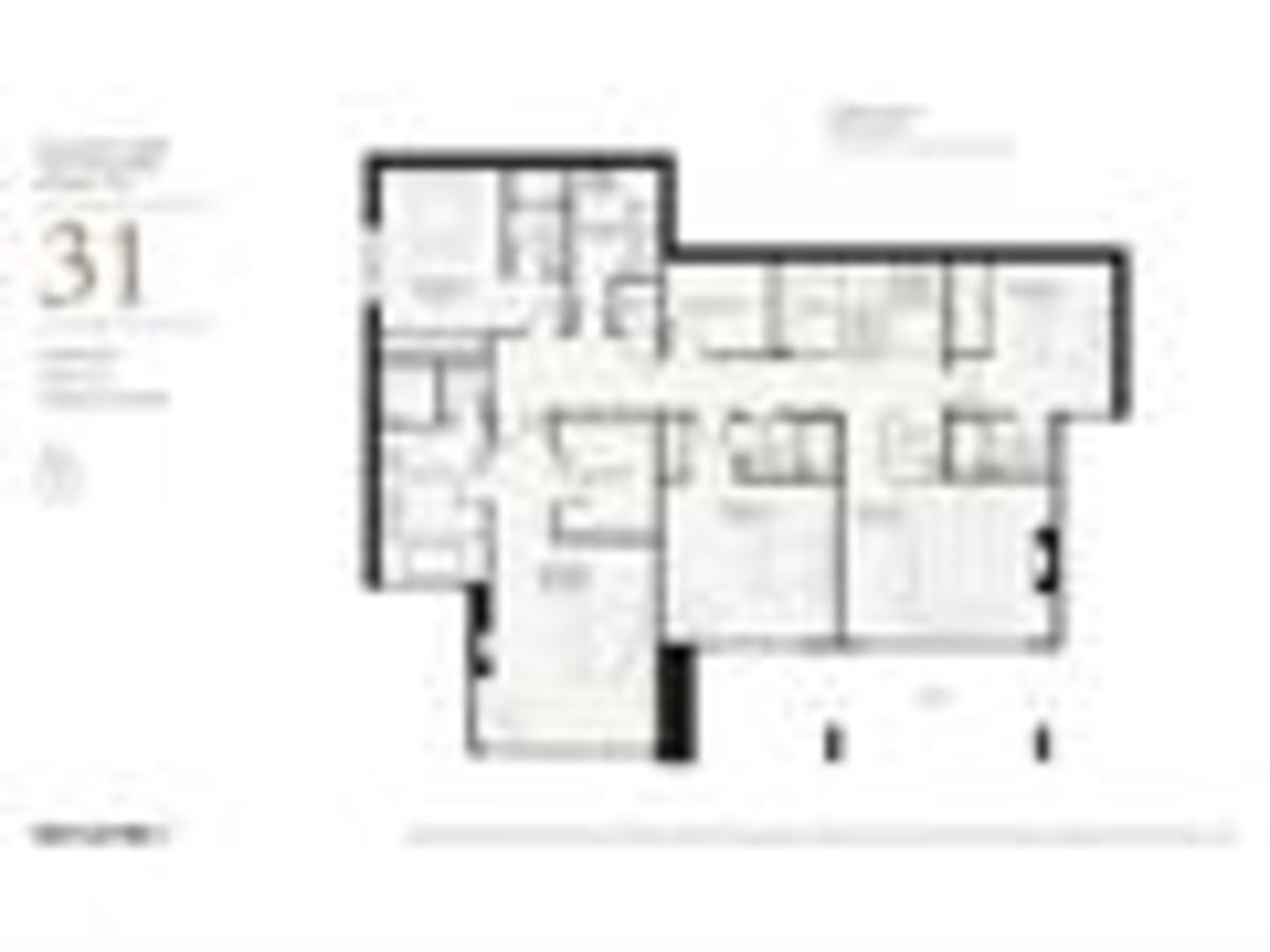 Floorplan-3 at Lot 31 Mulgrave Park, Whitby Estates, West Vancouver