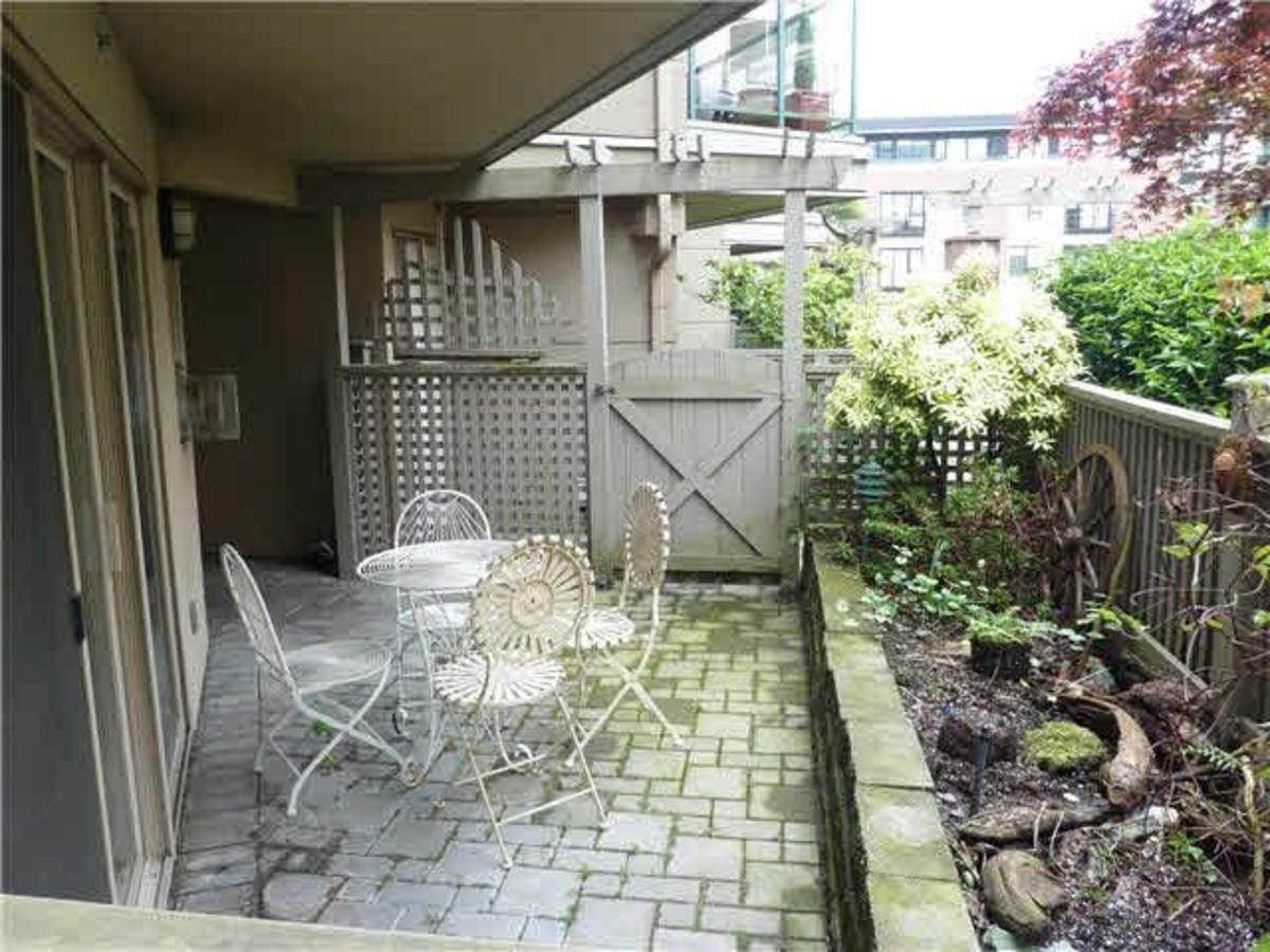Patio 2 at C3 - 332 Lonsdale Avenue, Lower Lonsdale, North Vancouver