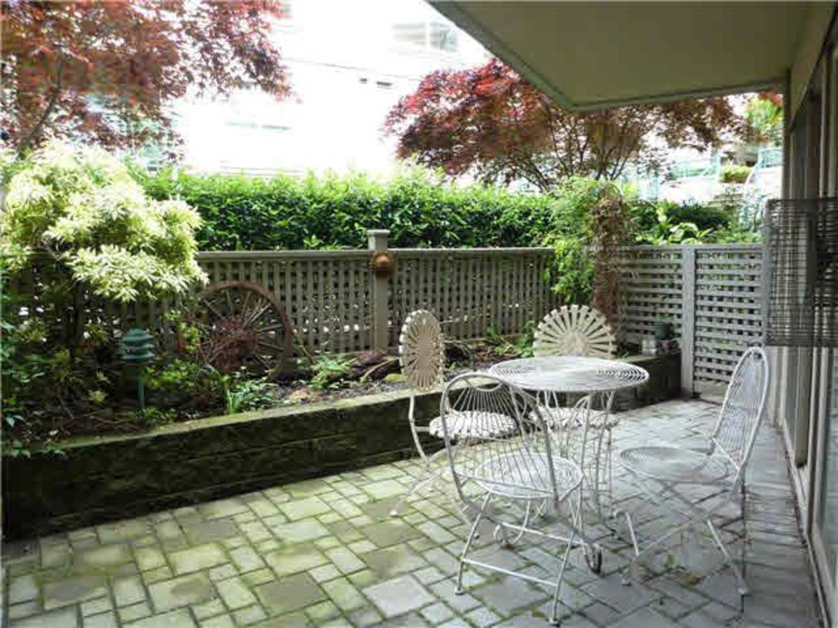 Patio at C3 - 332 Lonsdale Avenue, Lower Lonsdale, North Vancouver