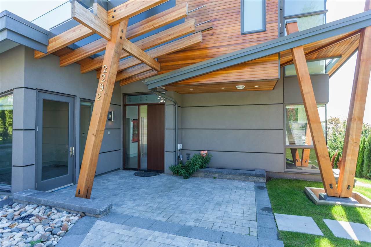 Front Entry at 2292 Mathers Avenue, Dundarave, West Vancouver