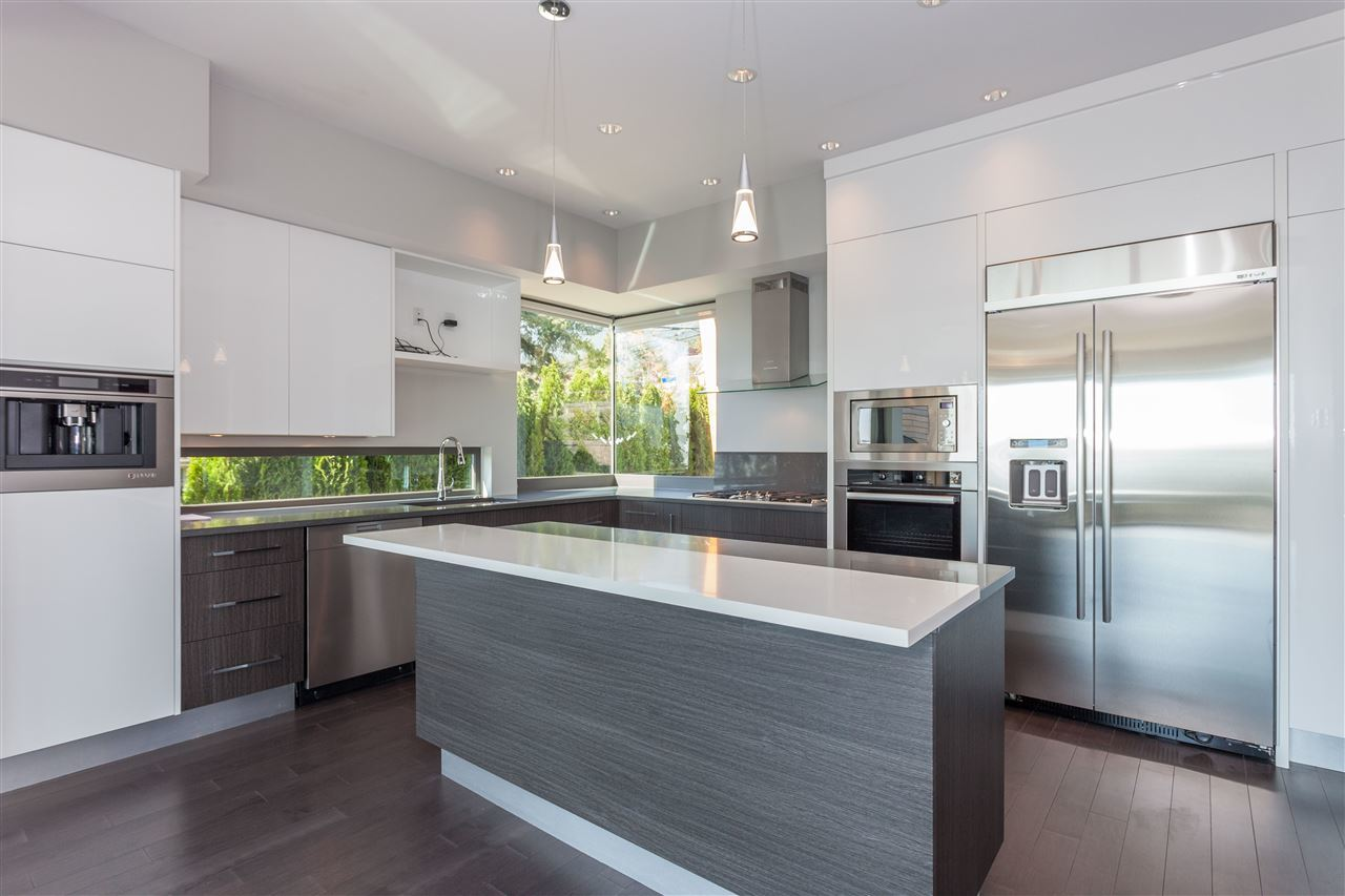 Kitchen at 2292 Mathers Avenue, Dundarave, West Vancouver