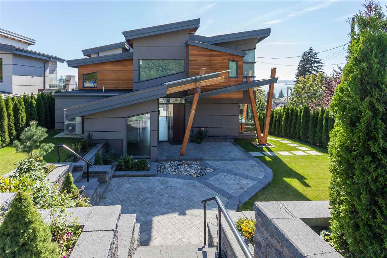 Exterior Front at 2292 Mathers Avenue, Dundarave, West Vancouver