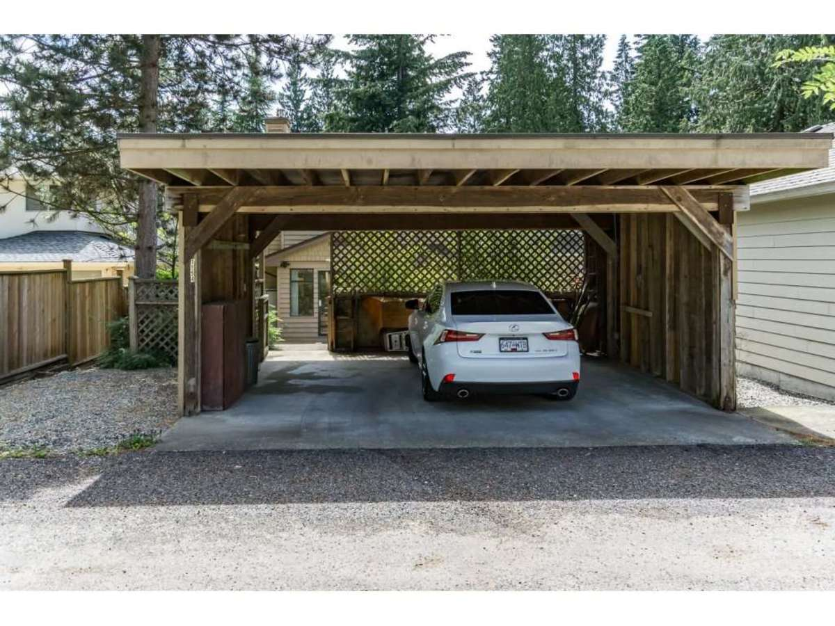 Carport at 1154 Clements Avenue, Canyon Heights NV, North Vancouver