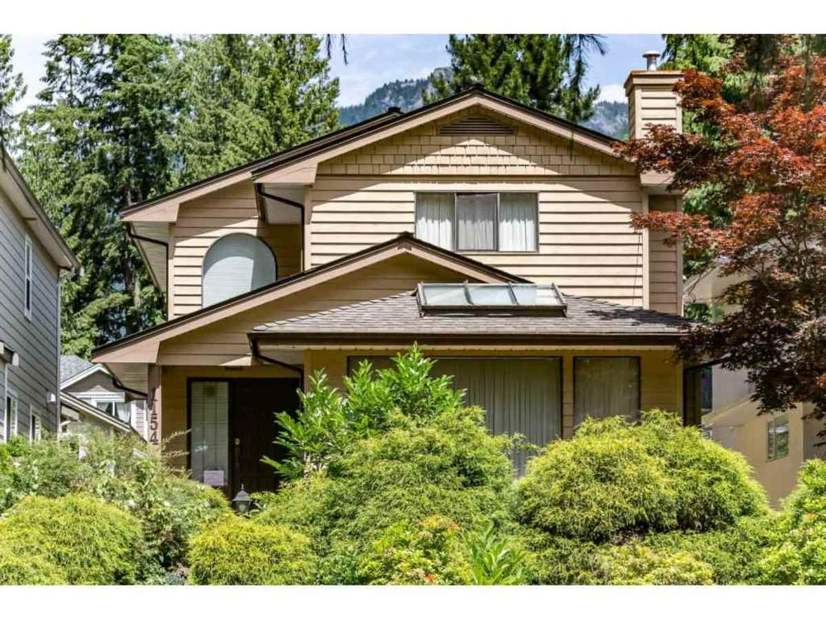 Exterior Front at 1154 Clements Avenue, Canyon Heights NV, North Vancouver