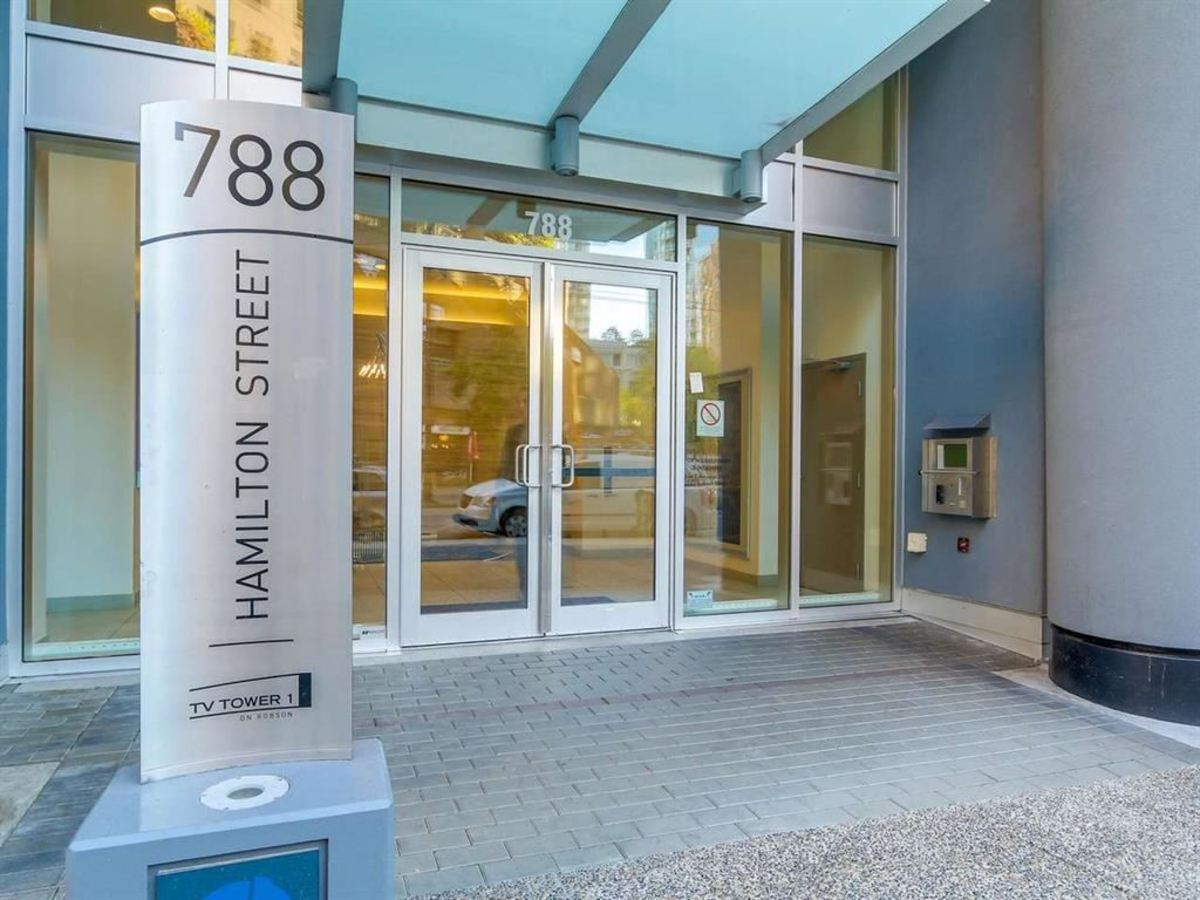 1608 - 788 Hamilton Street, Downtown VW, Vancouver West