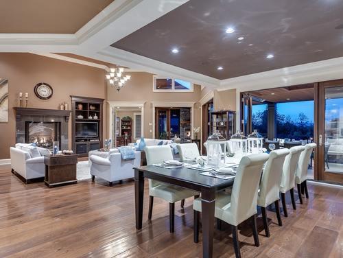 06_living-room_dining-room at 354 198 Street -  Langley,