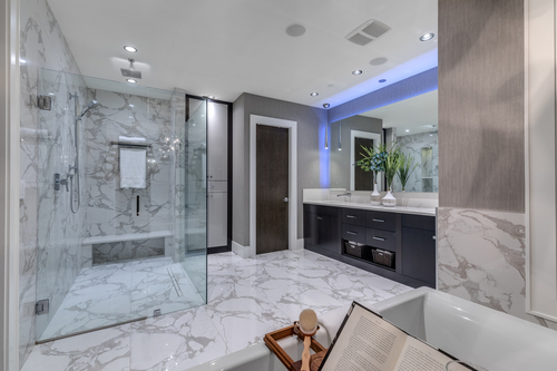 13-master-ensuite at 14283 Marine Drive -  White Rock Rock,