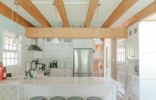 capulet-properties_otter-lake_kitchen at Otter Lake Living -  Cottage And Coach House,