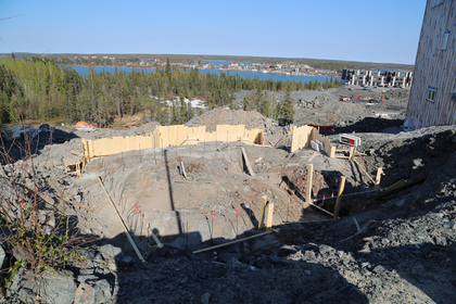 01-mcmahon-6-foundation-work at 6 Mcmahon Court, Niven, Yellowknife