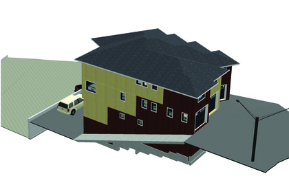 02-ext-view at 6 Mcmahon Court, Niven, Yellowknife