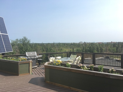 backdeck-summer-1 at 233A Niven Drive, Niven, Yellowknife