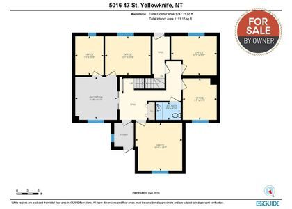 1-1 at 5016 47 Street, Downtown, Yellowknife
