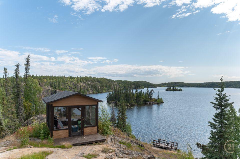 1-small-lake-hdr-1 at 1 Small Lake, Ingraham Trail, Yellowknife
