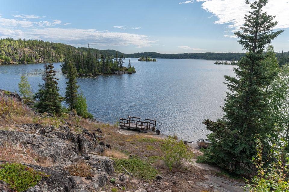 1-small-lake-hdr-12 at 1 Small Lake, Ingraham Trail, Yellowknife