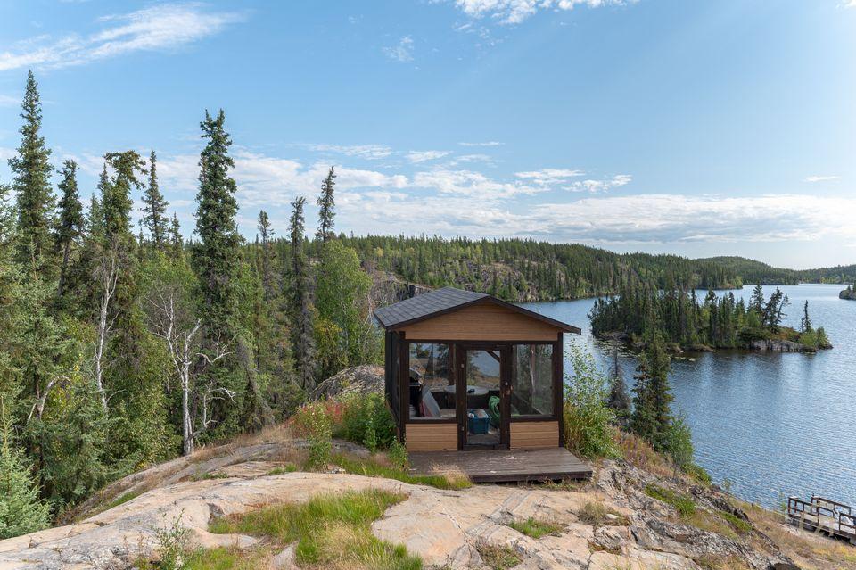 1-small-lake-hdr-2 at 1 Small Lake, Ingraham Trail, Yellowknife