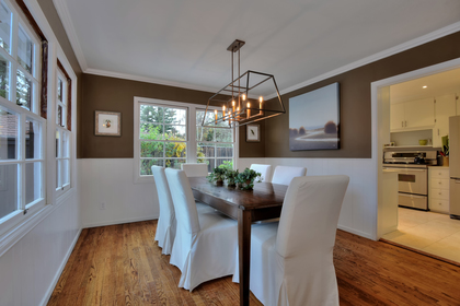 Dining-Room at 6 Hermosa, Menlo Park