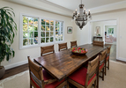 Formal Dining Room at 299 Menlo Oaks Drive, Menlo Park