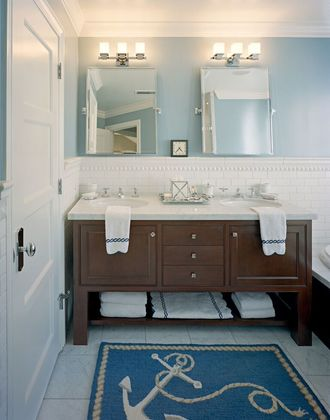 Master Bathroom at 430 Blake Street, Menlo Park