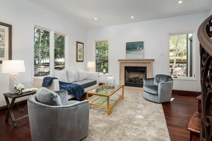 Living Room at 2198 Sterling Avenue, University Heights, Menlo Park