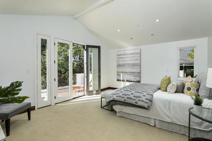 Master Bedroom at 2198 Sterling Avenue, University Heights, Menlo Park