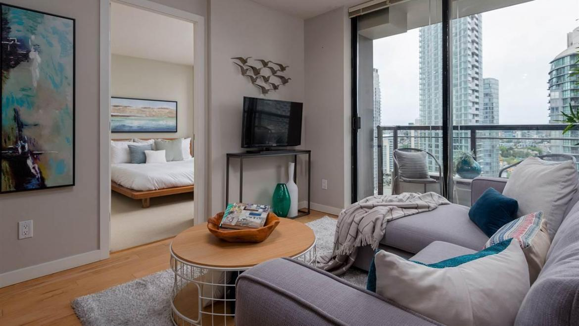 2206 - 1295 Richards Street, Downtown VW, Vancouver West