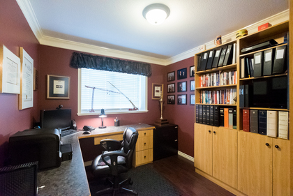Den w/ Built-in Desk at 7378 146 Street, East Newton, Surrey