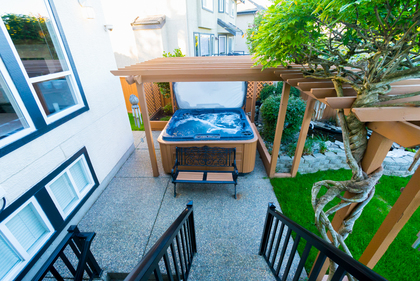 Private Hotub at 7378 146 Street, East Newton, Surrey