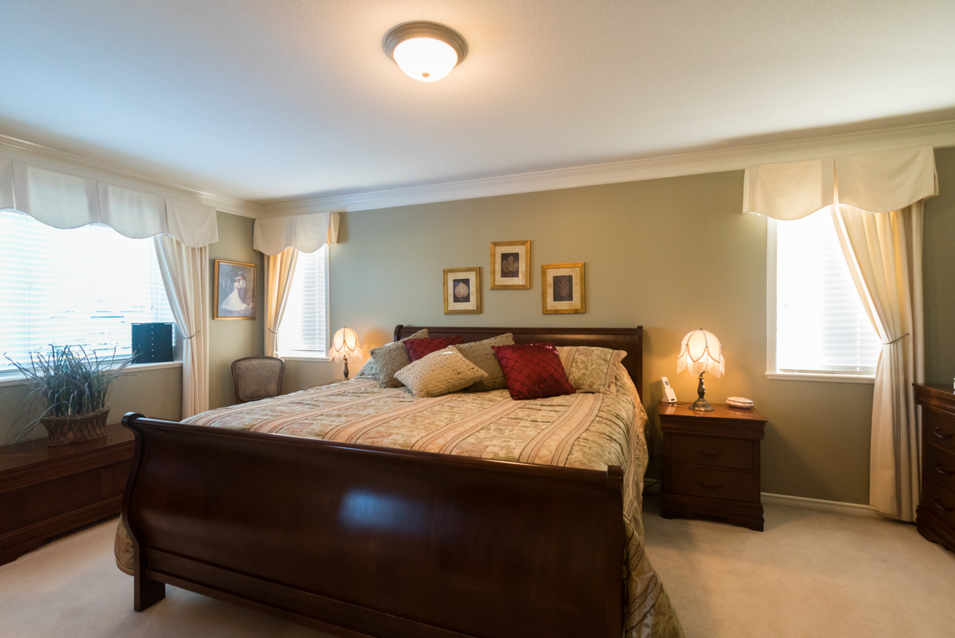 Master Bedroom at 7378 146 Street, East Newton, Surrey