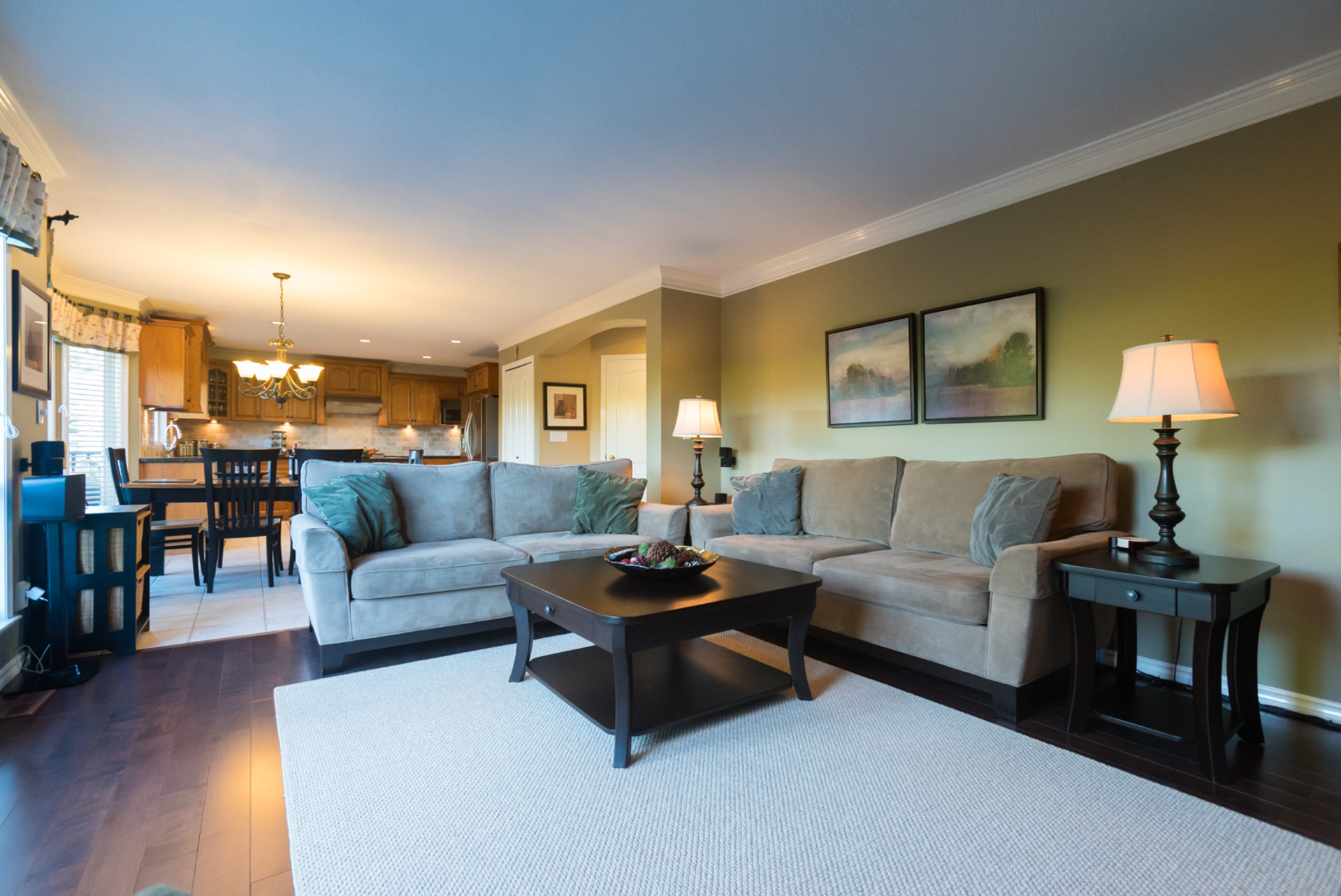 Bright Family Room at 7378 146 Street, East Newton, Surrey