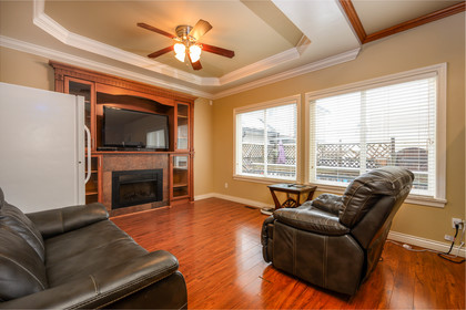 family-room at  19509 71a Avenue, Clayton, Cloverdale