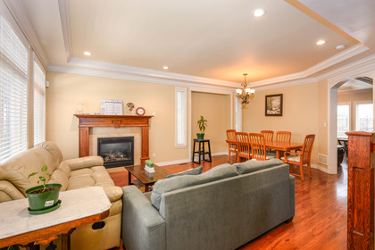 living-room-dining-room at  19509 71a Avenue, Clayton, Cloverdale