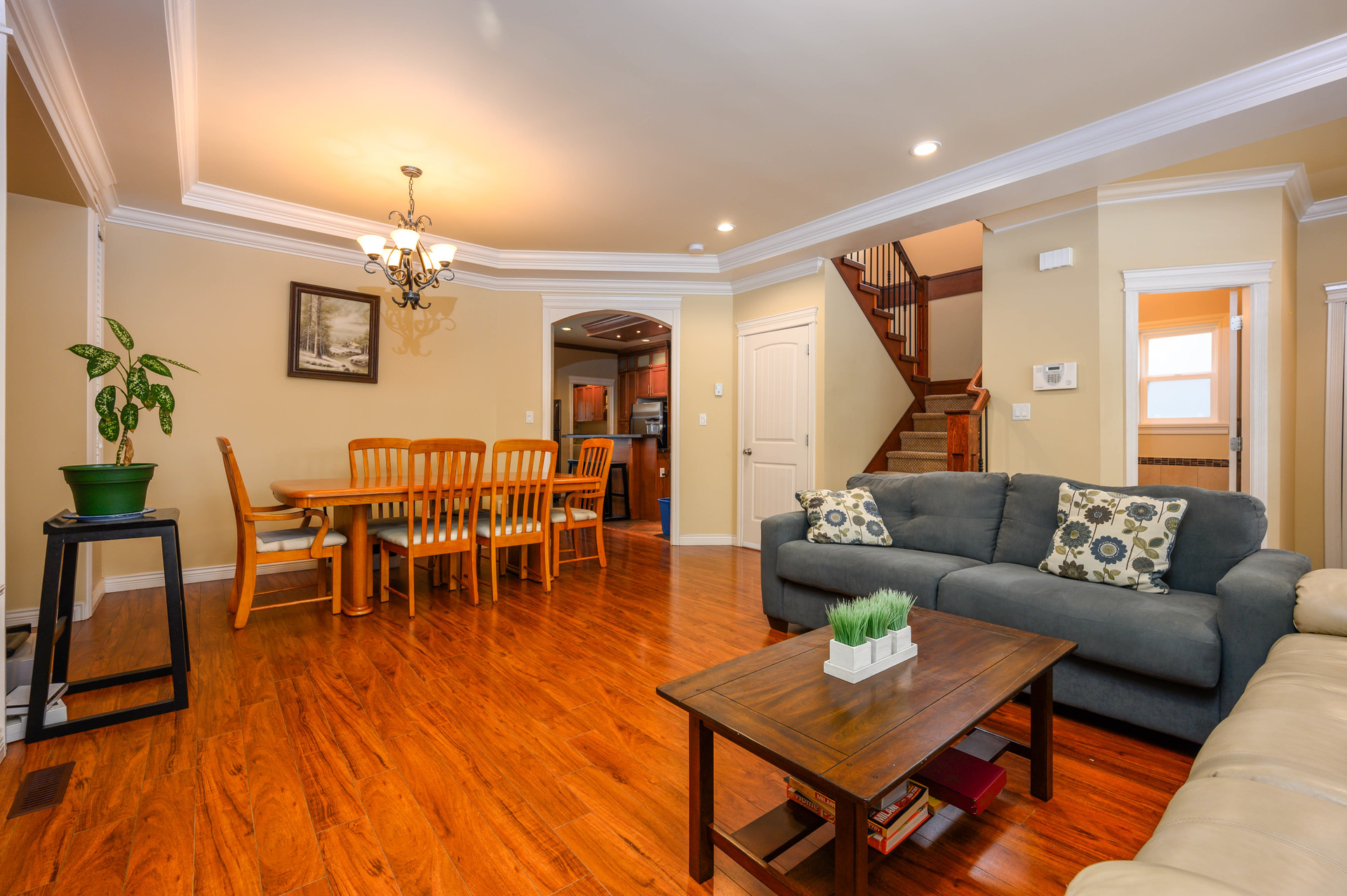 living-dining at  19509 71a Avenue, Clayton, Cloverdale