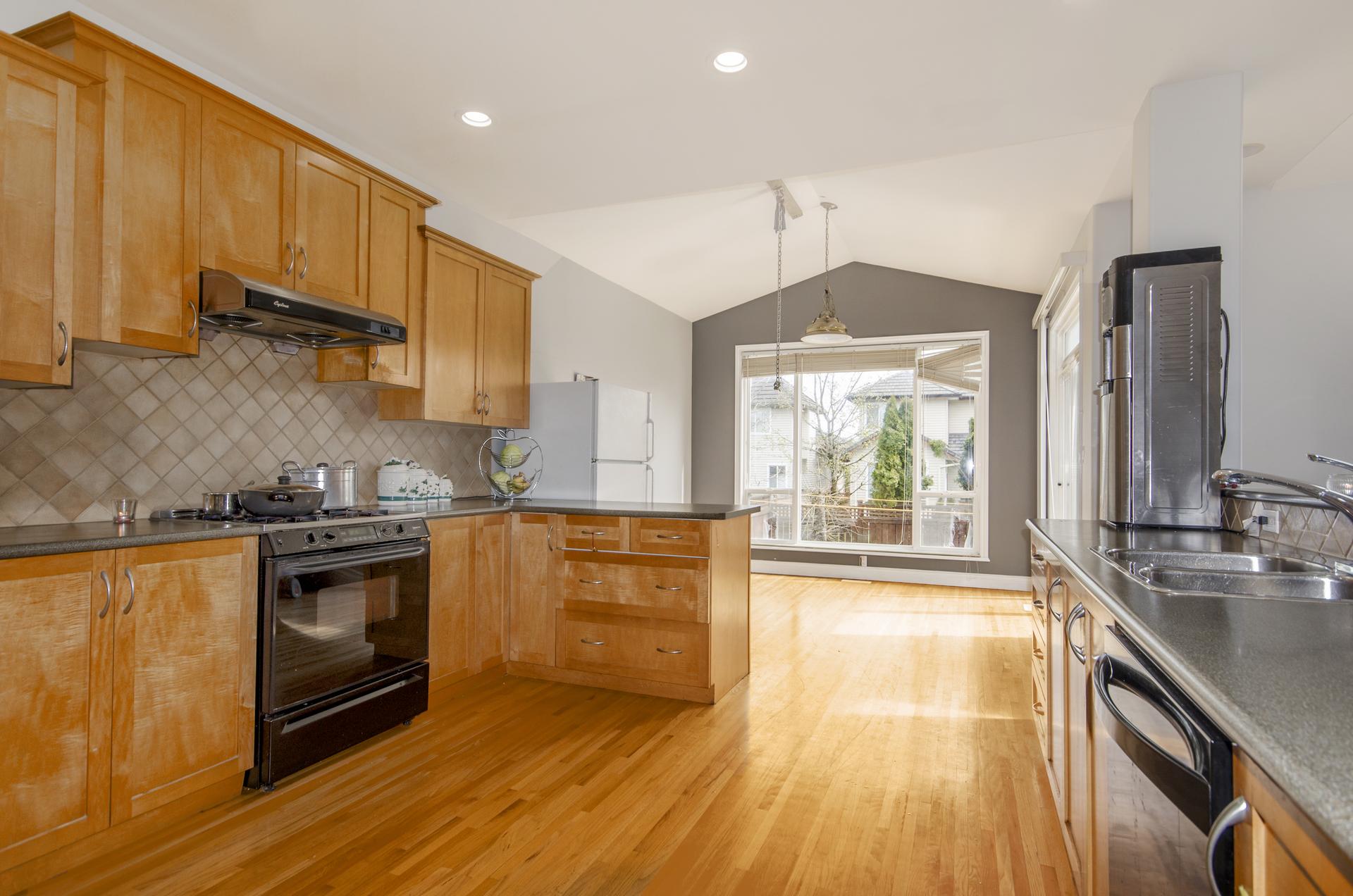 Kitchen at 7310 146 Street, East Newton, Surrey