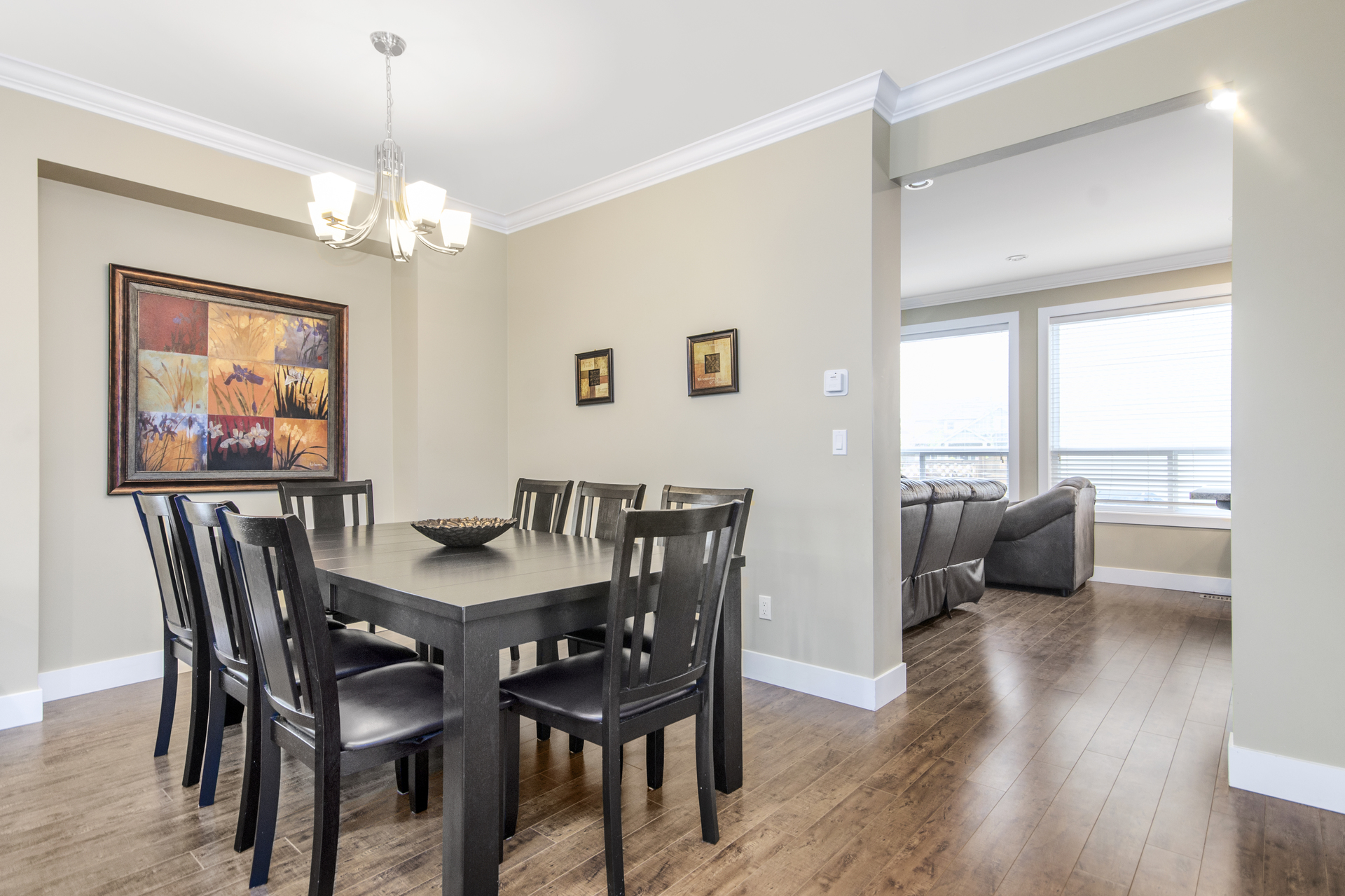 Dining Room at 7146 195 Street, Clayton, Cloverdale