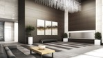 Lobby rendering. at 405 - Building B The Residences Bosa Bosa, Lynn Valley, North Vancouver