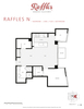 Floorplan at 1003 - 821 Cambie Street, Downtown VW, Vancouver West