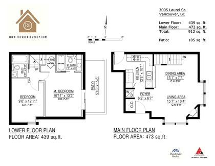3005-laurel-st-floor-plan at 3005 Laurel Street, Cambie, Vancouver West
