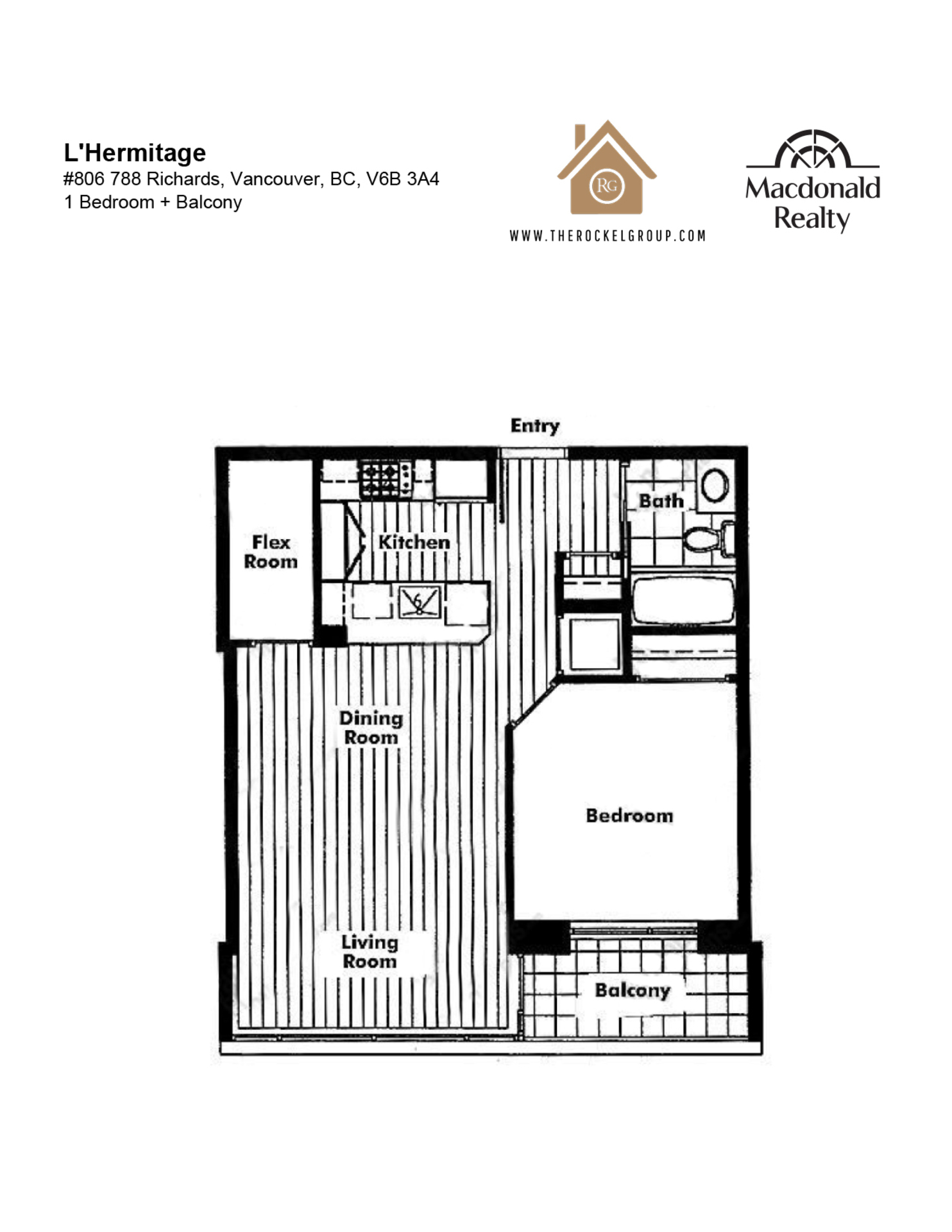 806-788-richards-st-floor-plan at 806 - 788 Richards Street, Downtown VW, Vancouver West