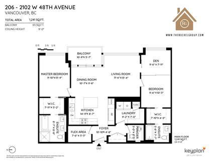 at 206 - 2102 West 48th Avenue, Kerrisdale, Vancouver West