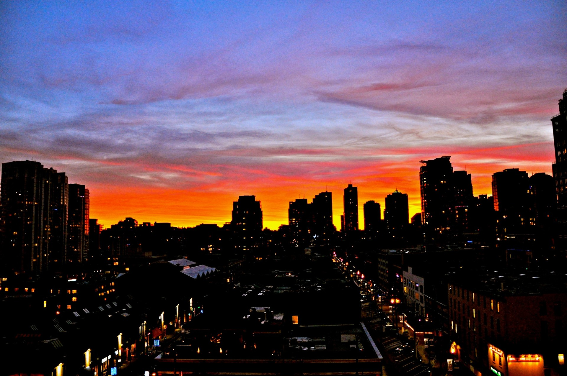 view at 1110 - 977 Mainland Street, Yaletown, Vancouver West