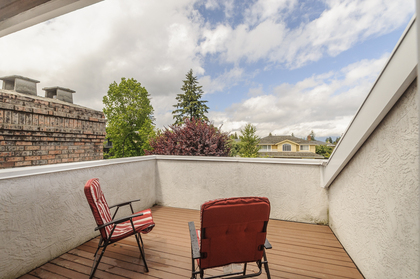 Private balcony off of the Principal bed at 1178 West 42nd Avenue, South Granville, Vancouver West