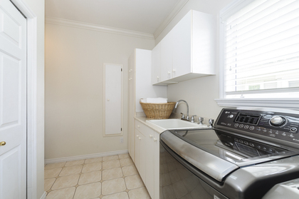 Laundry room with great storage at 1178 West 42nd Avenue, South Granville, Vancouver West