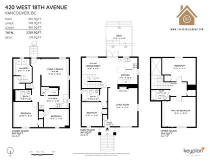 at 420 West 18th Avenue, Cambie, Vancouver West