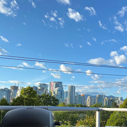 View on a sunny day at 2221 Oak Street, Fairview VW, Vancouver West