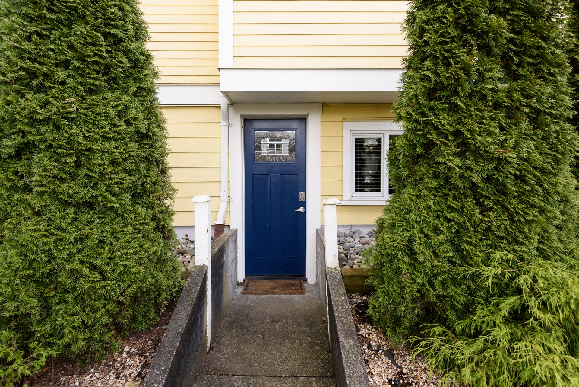 Entrance to lower suite at 1003 Semlin Drive, Grandview Woodland, Vancouver East