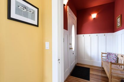 Entry way at 865 West 18th Avenue, Cambie, Vancouver West