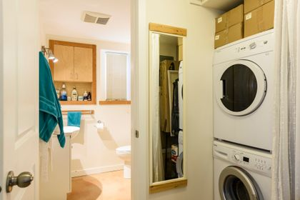 suite laundry at 865 West 18th Avenue, Cambie, Vancouver West